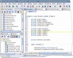 Основы языка Java. Среда программирования Jdeveloper